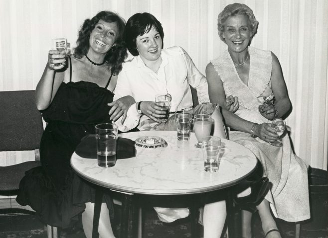 Marion Hudson, Grace Coonan and Joan Ash. | JLP Archive Collection