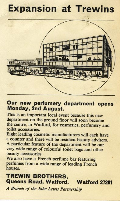 Expansion at Trewins. | JLP Archive Collection