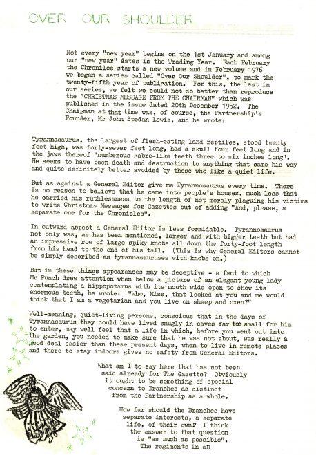 Christmas Chronicle. Vol.25. No.47. 25 December 1976