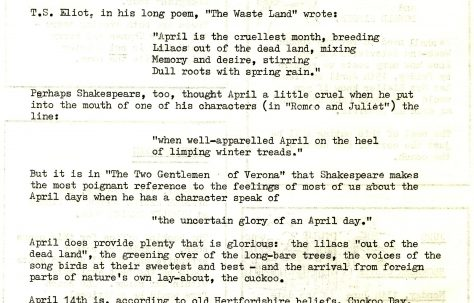 Chronicle. Vol.26. No.10. 9 April 1977