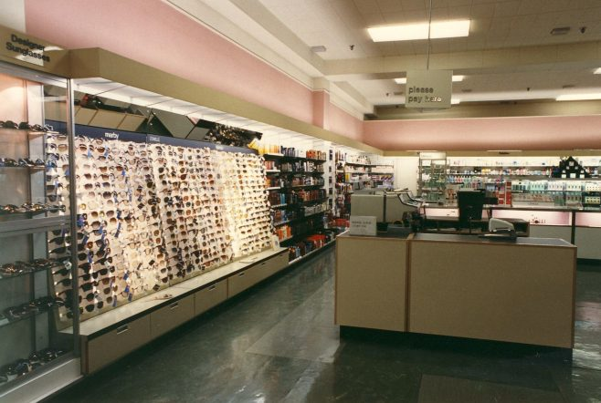 Toiletries department in the Queens Road shop | JLP Archive Collection