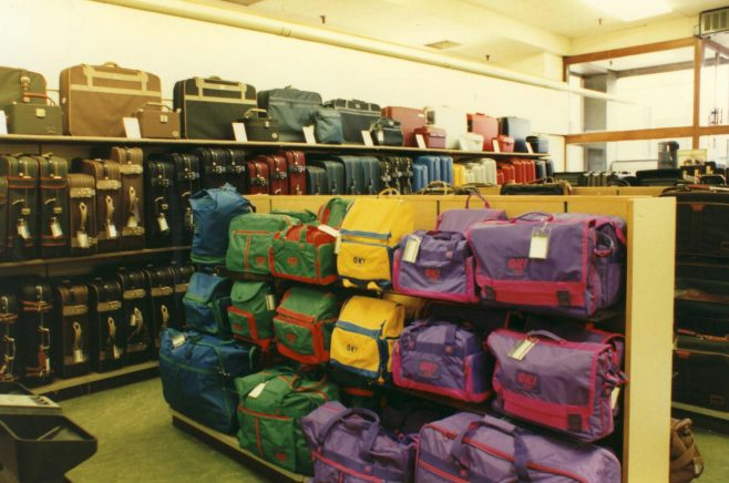 Travel goods department, Queens Road. | JLP Archive Collection