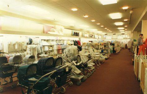 Nursery furniture department.