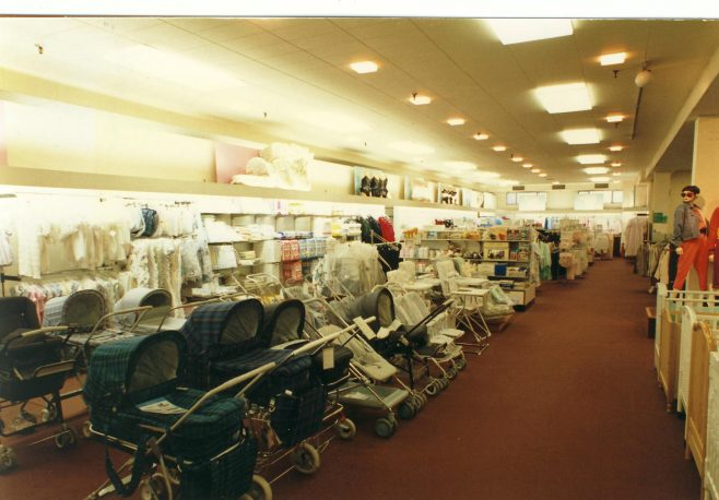 Nursery furniture department, Queens Road. | JLP Archive Collection