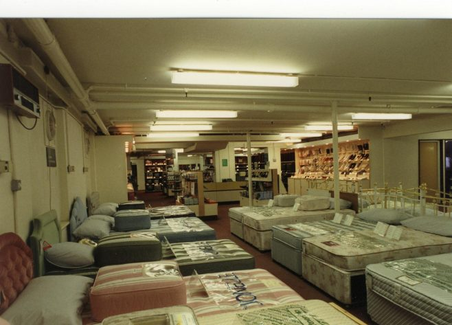 Beds and bedroom furniture.   JLP Archive Collection