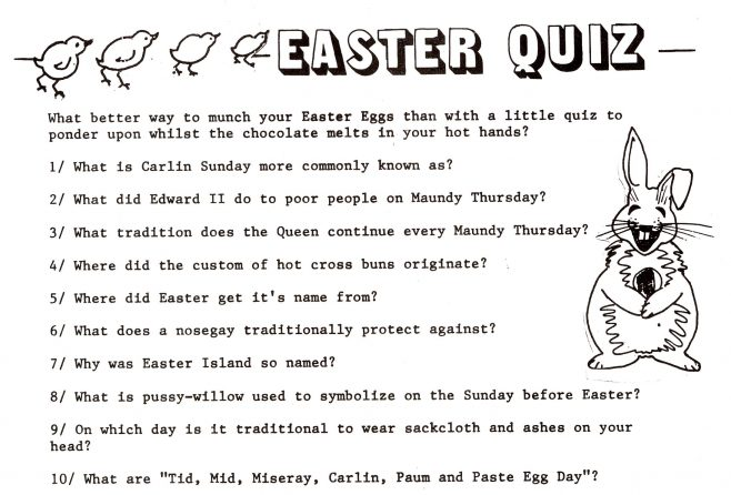 Easter Chronicle. 10th.April 1993