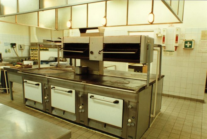 Kitchens in the Queens Road shop | JLP Archive Collection
