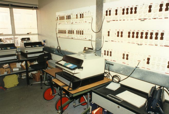 Computer control room. | JLP Archive Collection