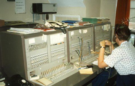 The telephone exchange