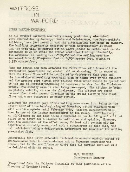 Trewins Chronicle, 12 April 1969