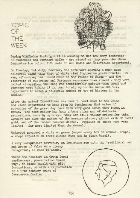 Chronicle Vol.14, No.21, 5 July 1969