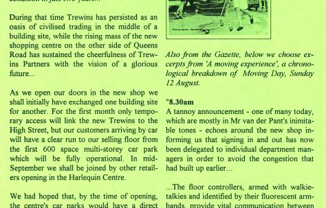Chronicle. 5th. birthday edition. 19th. August 1995