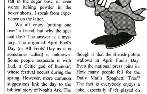 Chronicle. Vol.45. No.10. 6th.April 1996