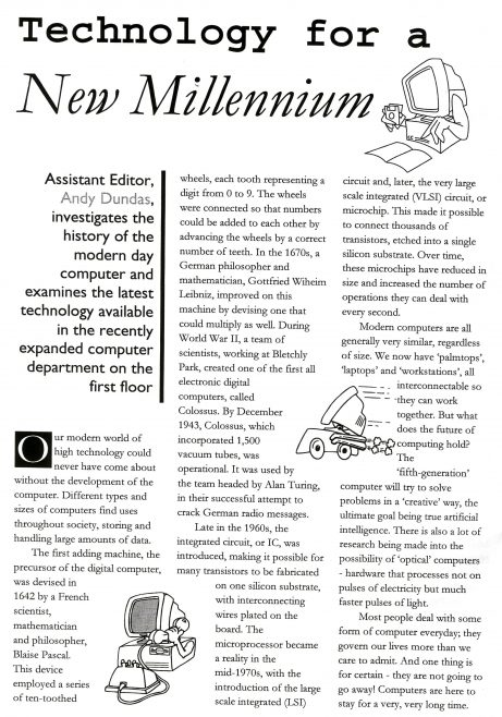 Chronicle. Vol.48. No.41. 20th.November 1999