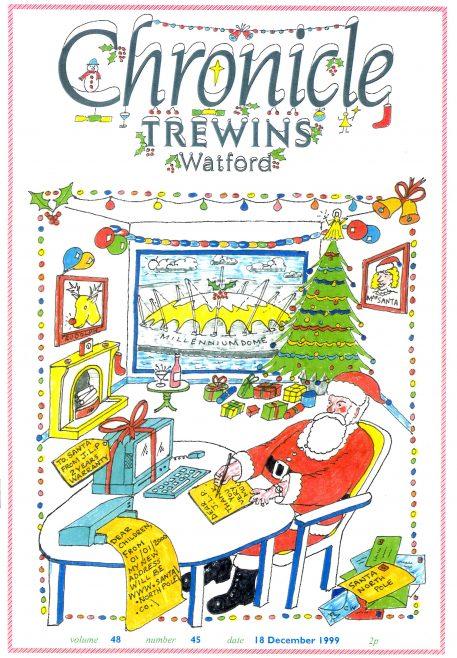 Trewins Christmas Chronicle cover.