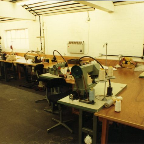 Furnishing Fabric workroom. | JLP Archive Collection