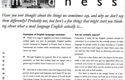 Chronicle. Vol.53. No.46. 22nd.December 2001