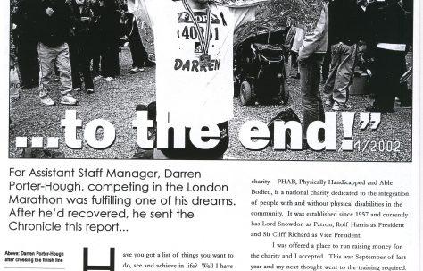 Chronicle. Vol.54. No.13. 4th.May 2002