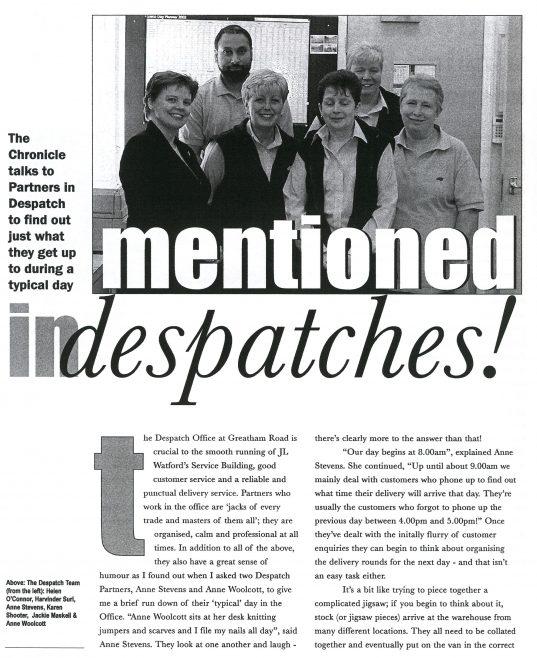 Chronicle. Vol.54. No.23. 13th.July 2002