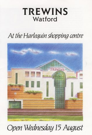 Trewins at the Harlequin shopping centre