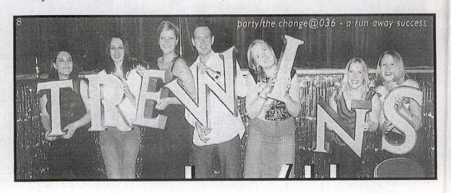 The Chron. (Free with christmas chronicle) 22nd.December 2001