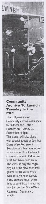Going for the launch | Chronicle Volume 57, No.34, 22 September 2007