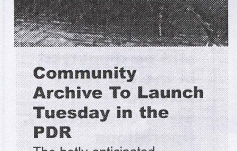 Community Archive Launch