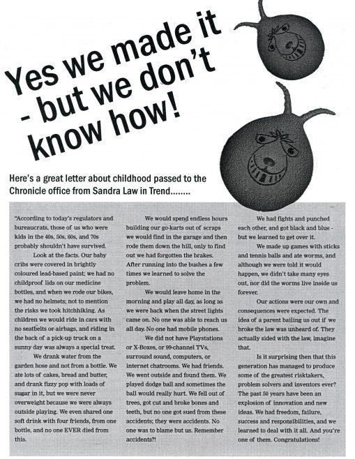 Chronicle. Vol.54. No.67. 21st.June 2003