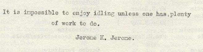 Idling | Volume 6, No.3, 16 February 1957
