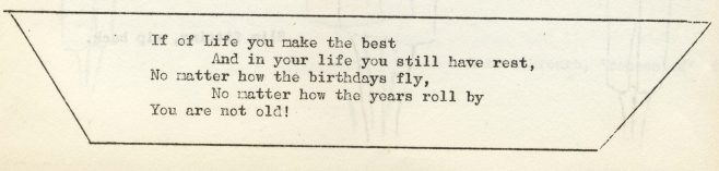 If of life you make the best. | Volume 6, No.52, 8 February 1958