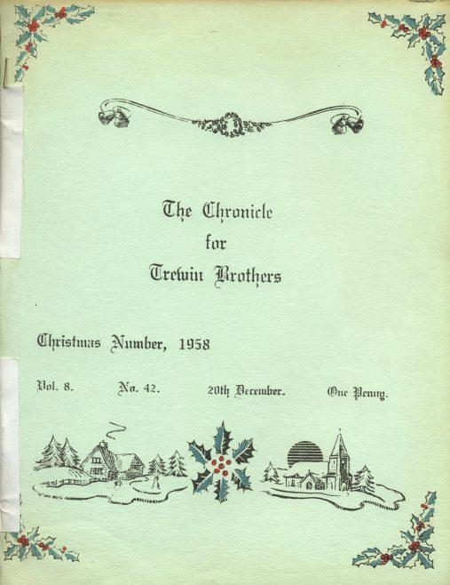 Chronicle, 20 December 1958