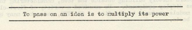 Pass on an idea | Volume 8, No.11, 18 April 1959