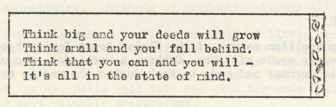Think big | Volume 8, No.24, 25 July 1959