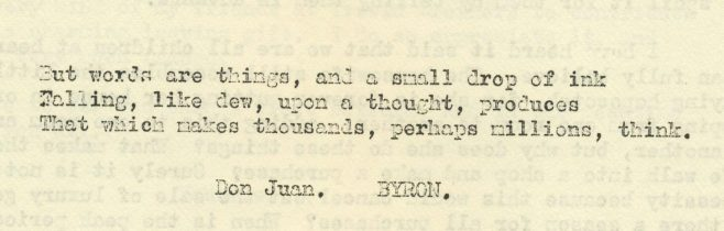 Words and things | Volume 8, No. 31, 12 September 1959