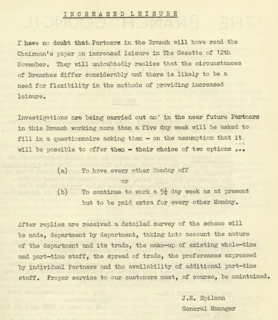 Chronicle, 26 November and 3 December 1960