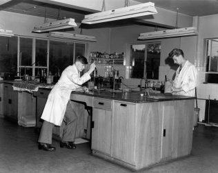 Laboratory at Stead McAlpin | John Lewis Partnership Archives