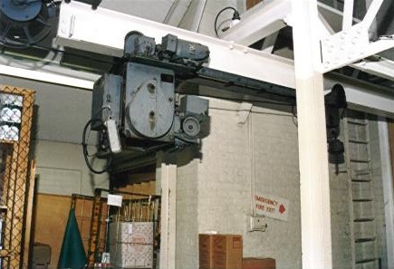 The old carpet hoist. | JLP Archive Collection