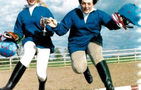 Horse-riding champions at John Lewis Welwyn