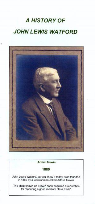 A History of John Lewis, Watford.