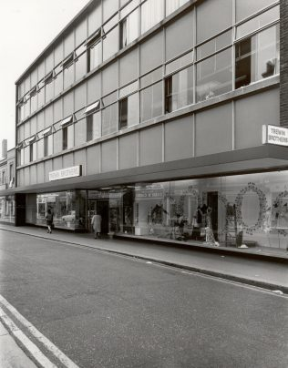 Trewin Brothers exterior 1971 | JLP Archive Collection