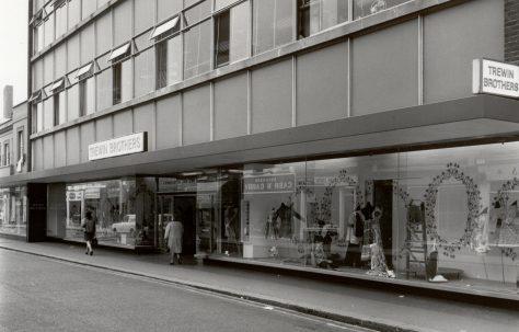 Trewin Bros new building, c1971