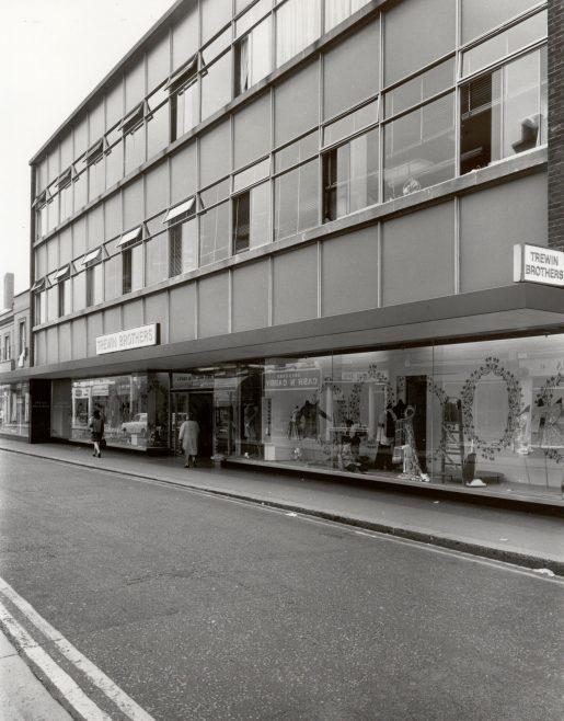 Trewin Bros exterior, c1971 | JLP Archive Collection