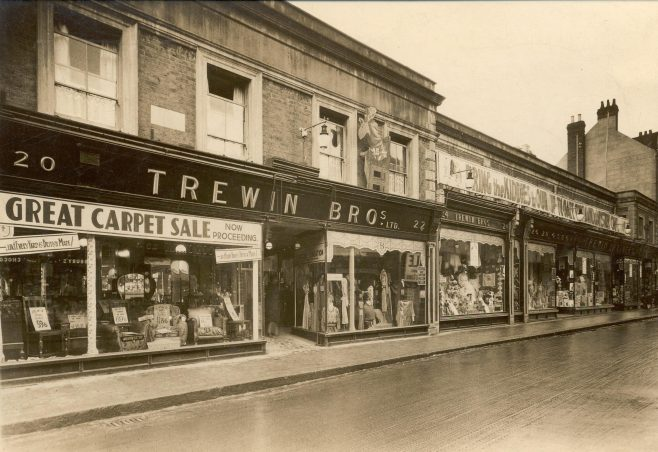 Shop facade 1930s | JLP Archive Collection