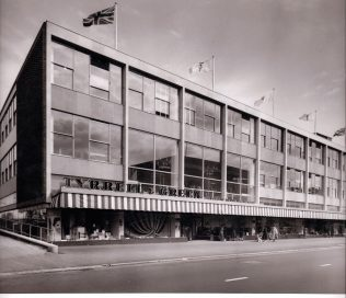 The new Tyrrell and Green department store, opened in 1956