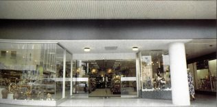 The new gift department opened at Tyrrell and Green, 1992