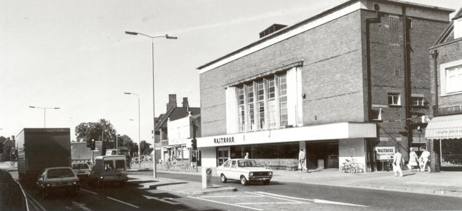 Waitrose Watford exterior August 1987 | JLP Archive Collection