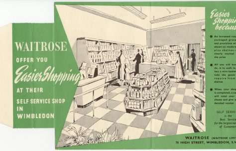 New ways of shopping in the 50s