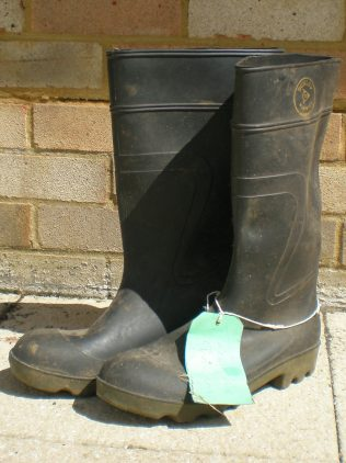 The wellingtons! | From the private collection of Ian Hudson