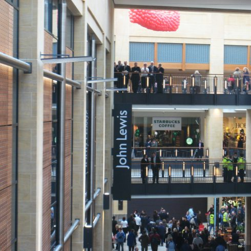 Grand Arcade opening March 2008