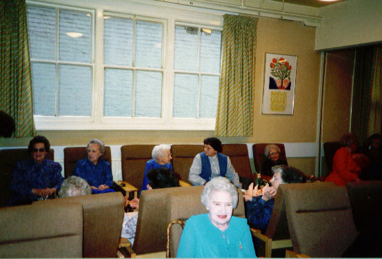 Social in Robert Sayle rest room